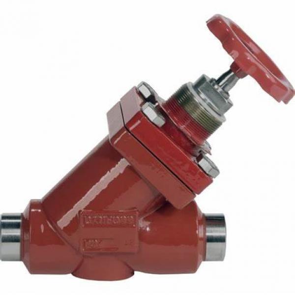 Danfoss Shut-off valves 148B4605 STC 25 A ANG  SHUT-OFF VALVE HANDWHEEL #1 image